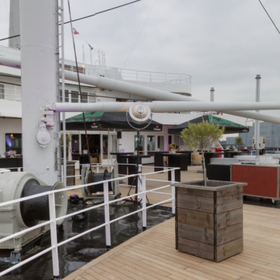 Upper Promenade Deck in 360